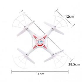 DW X5C Quadcopter Drone - White - 5