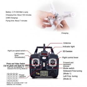 DW X5C Quadcopter Drone WiFi 0.3MP Camera - White - 7