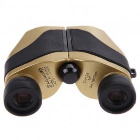 Baigish Teropong Binocular Outdoor Magnification 80 x 120 - A1040 - Golden - 4