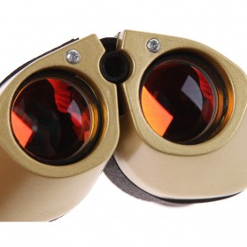 Baigish Teropong Binocular Outdoor Magnification 80 x 120 - A1040 - Golden - 7