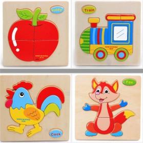 Mainan Puzzle 3D Anak - 008 - 2