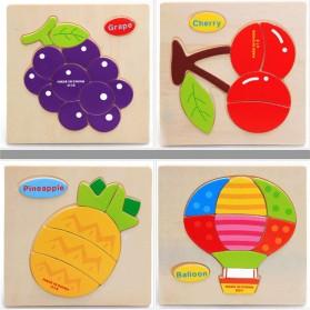 Mainan Puzzle 3D Anak - 008 - 3