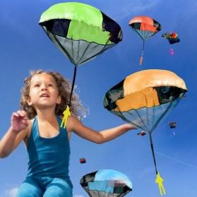 Mainan Lempar Parasut Outdoor - Multi-Color