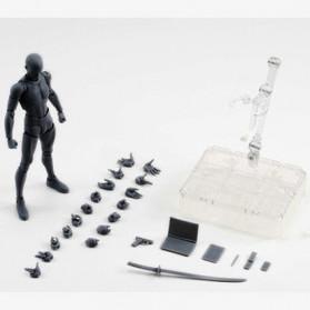 SHFiguart Body Kun DX Set Mannequin Action Figure Male Model (Replika 1:1) - Black