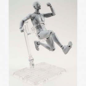 SHFiguart Body Kun DX Set Mannequin Action Figure Male Model (Replika 1:1) - Gray - 2