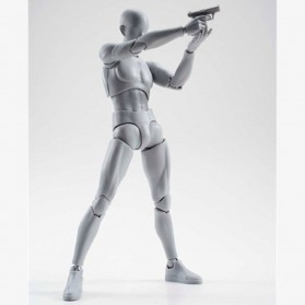 SHFiguart Body Kun DX Set Mannequin Action Figure Male Model (Replika 1:1) - Gray - 3
