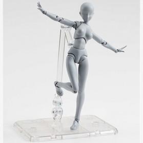SHFiguart Body Chan DX Set Mannequin Action Figure Female Model (Replika 1:1) - Gray - 3