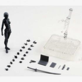 SHFiguart Body Chan DX Set Mannequin Action Figure Female Model (Replika 1:1) - Gray - 7