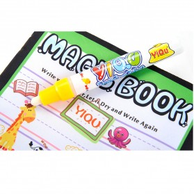 COOLPLAY Buku Mewarnai Cat Air Anak Magic Water Book - YQ5906 - Multi-Color - 4