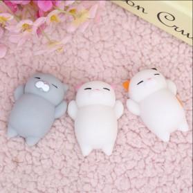 Squishy Toy Model Kucing - Snow White - 5
