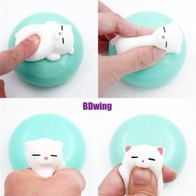 Squishy Toy Model Kucing - Snow White - 9