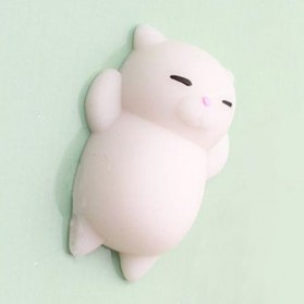 Squishy Toy Model Kucing - White