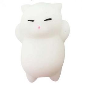Squishy Toy Model Kucing - White - 2