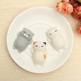 Squishy Toy Model Kucing - White - 4