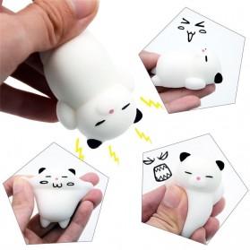 Squishy Toy Model Kucing - White - 8