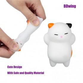 Squishy Toy Model Kucing - White - 10