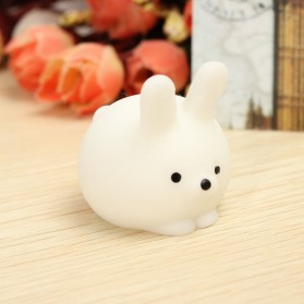Squishy Toy Model Kelinci - White