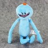 Plush Toy Boneka Rick and Morty Mr Meeseeks Smile Face - Blue