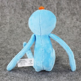 Plush Toy Boneka Rick and Morty Mr Meeseeks Smile Face - Blue - 2