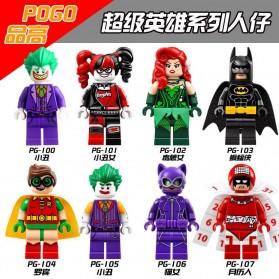POGO Action Figure Batman 8 PCS