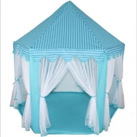 EASYKIDS Tenda Bermain Anak Model Istana Kids Portable Tent - KTH77 - Blue - 2