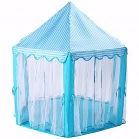 EASYKIDS Tenda Bermain Anak Model Istana Kids Portable Tent - KTH77 - Blue - 3
