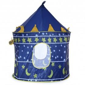 ROXPORT Tenda Bermain Anak Model Castle Kids Portable Tent - KTH78 - Blue - 2