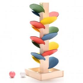 Mainan Edukasi Anak Marble Run - Multi-Color
