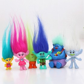 Action Figure Trolls 6 PCS