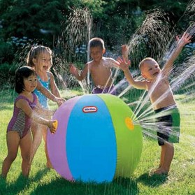 Bola Air Spray Sprinkler Water Ball Smash It Toys - Multi-Color