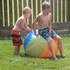 Bola Air Spray Sprinkler Water Ball Smash It Toys - Multi-Color - 3