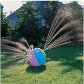 Bola Air Spray Sprinkler Water Ball Smash It Toys - Multi-Color - 4