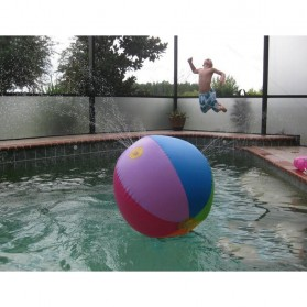 Bola Air Spray Sprinkler Water Ball Smash It Toys - Multi-Color - 7