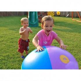 Bola Air Spray Sprinkler Water Ball Smash It Toys - Multi-Color - 8