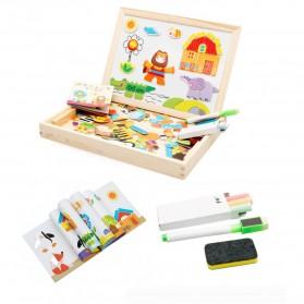Simingyou Wooden Puzzle Multifungsi Anak-Anak - WDX41 - 2