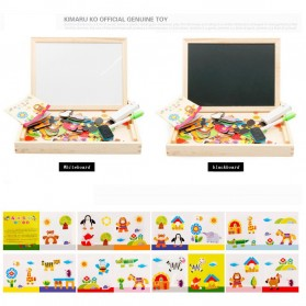 Simingyou Wooden Puzzle Multifungsi Anak-Anak - WDX41 - 3