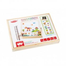 Simingyou Wooden Puzzle Multifungsi Anak-Anak - WDX41 - 8