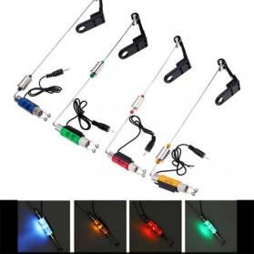 Fishing Alarm Hanger Swinger LED Illuminated Indicator - Blue - 2