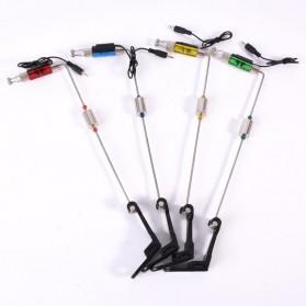 Fishing Alarm Hanger Swinger LED Illuminated Indicator - Blue - 3