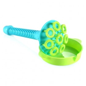 Mainan Gelembung Sabun Tiup Micro Bubble Blower - 119499 - Blue - 2