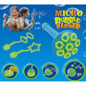 Mainan Gelembung Sabun Tiup Micro Bubble Blower - 119499 - Blue - 4