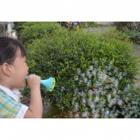 Mainan Gelembung Sabun Tiup Micro Bubble Blower - 119499 - Blue - 5