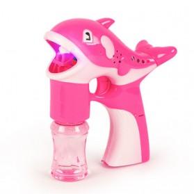 Mainan Gelembung Sabun Otomatis Model Dolphin Bubble Machine - Multi-Color - 2