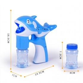 Mainan Gelembung Sabun Otomatis Model Dolphin Bubble Machine - Multi-Color - 4