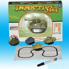 Mainan Mobil-Mobilan Tank Magic Line Induction Toy