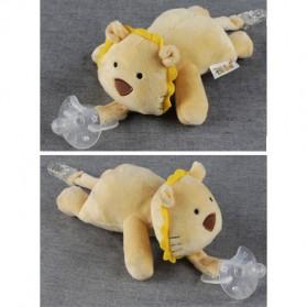 Dot Empeng Bayi Model Boneka Baby Silicon Pacifier Dot - Yellow - 4