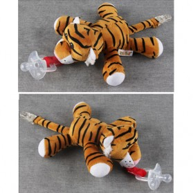 Dot Empeng Bayi Model Boneka Baby Silicon Pacifier Dot - Gray - 5