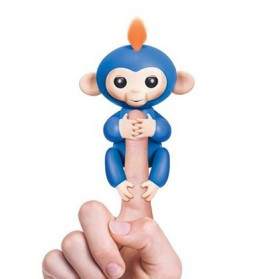 Mainan Lainnya - Mainan Interaktif Fingerlings Monkey Smart Toy - Blue