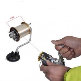 Alat Bantu Penggulung Tali Pancing Fishing Line Winder - 6839 - Silver - 3