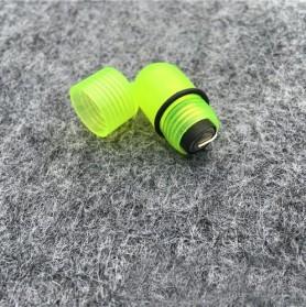 Gmarty Lampu LED Bell Pendeteksi Ikan untuk Kail Pancing 10 PCS - Q0142 - Green - 2